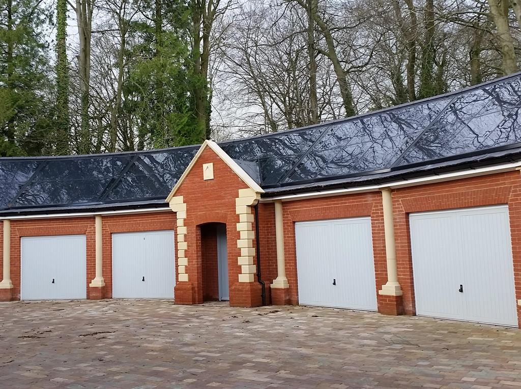 Gb sol multi faceted garage roof for Garage cupola